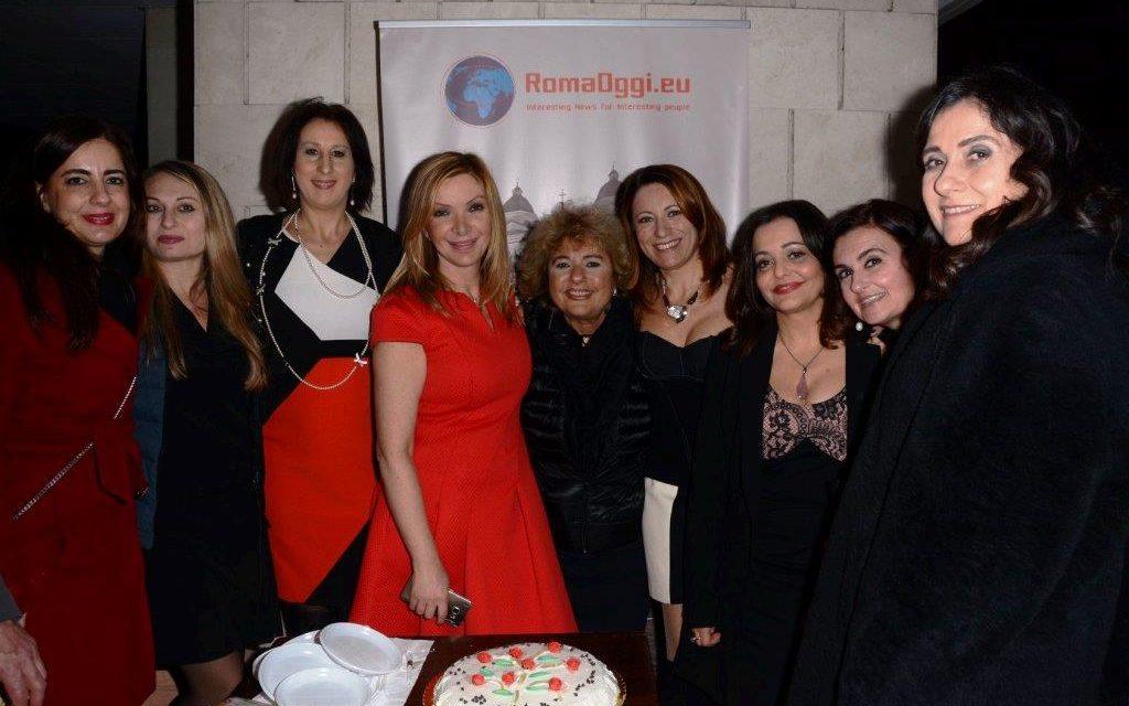 Compleanno Evento della giornalista RAI Antonietta Di Vizia con tanti artisti, giornalisti e blogger