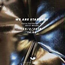 chiara ferragni we are stardust fashion week milano moda donna logo 2
