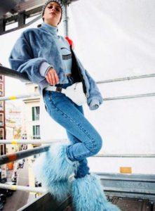 chiara ferragni we are stardust fashion week milano moda donna modelle 2