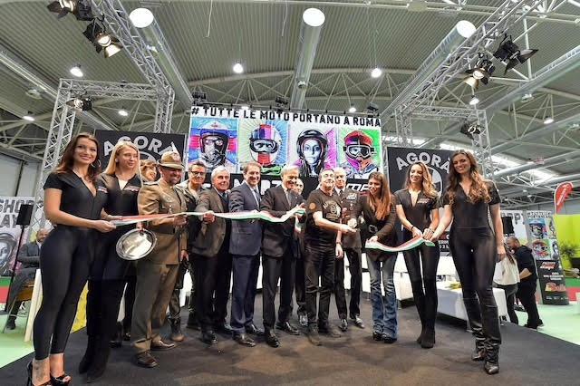 roma motodays 2018 expo fiera di roma flora canto inaugurazione