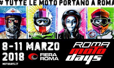 Roma MotoDays torna alla Fiera di Roma per i suoi 10 anni