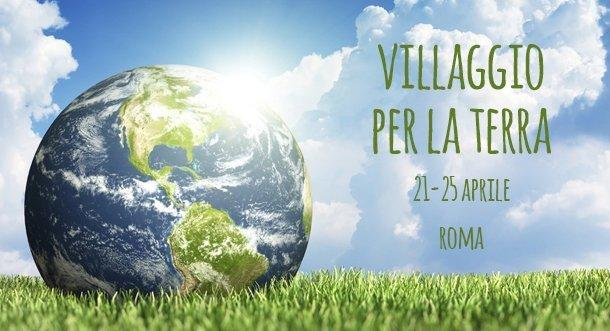 Roma festeggia l'Earth Day con il Villaggio per la Terra