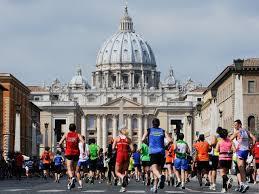 maratona di roma 2018 immagini percorso