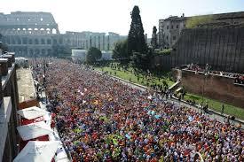 roma fun run la stracittadina di roma maratona save the children colosseo