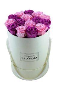 festa della mamma rose eterne Clavdia magenta-e-rosa