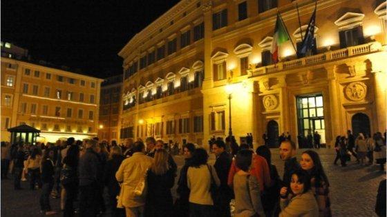 la notte dei musei 2018 roma aperti camera e senato
