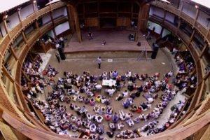 globe theatre roma dall'alto