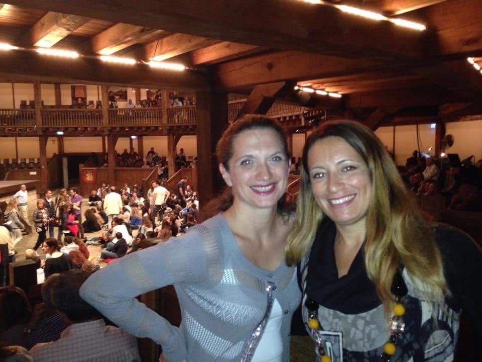globe theatre roma interno elenia scarsella