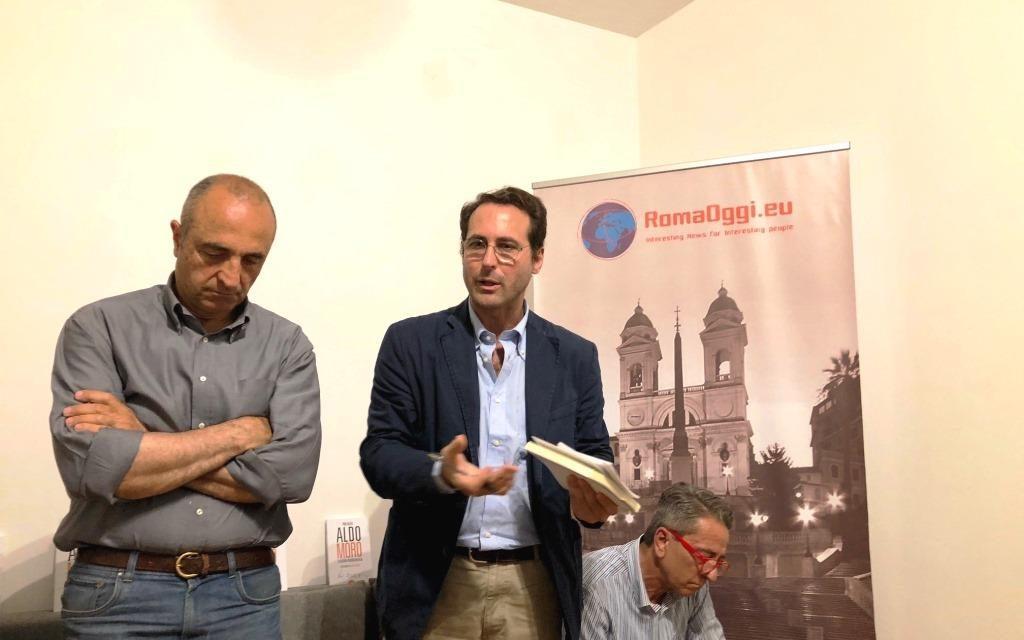 """Presentazione del nuovo libro di Pino Nazio """"Aldo Moro – La Guerra Fredda in Italia"""""""