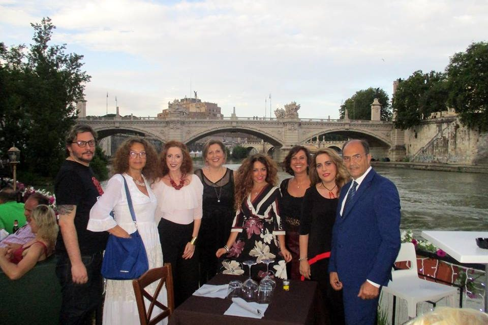 Parole al Vento reading poetico sul LungoTevere