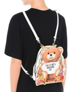 zaino zainetto back pack moschino orsetto this is not a moschino toy