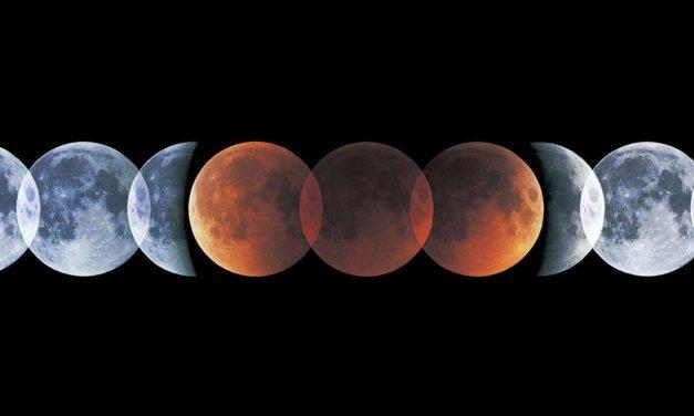 27 luglio 2018, occhi al cielo per l'eclissi di Luna