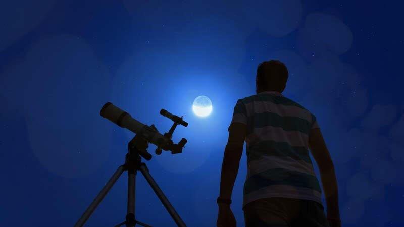 eclissi di luna totale luna rossa fasi osservazione telescopio