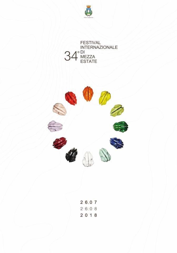 festival internazionale di mezza estate tagliacozzo logo locandina