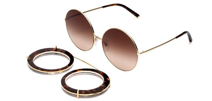 dg-eyewear-line occhiali da sole sunglasses clip on leo customize your eyes