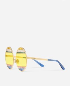 occhiali sunglasses dolce & gabbana collezione i love maiolica