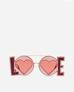 occhiali sunglasses dolce & gabbana love