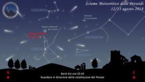 perseidi stelle cadenti notte di san lorenzo dove guardare