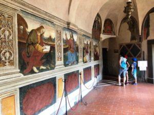 vivere l'aniene subiaco monastero san benedetto la spelonca santuario del sacro speco interno