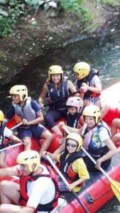 vivere l'aniene subiaco rafting avventura partenza1