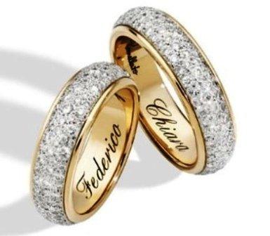 matrimonio chiara ferragni e fedez anelli fedi pomellato ferragnez