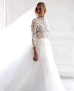 matrimonio chiara ferragni e fedez vestito da sposa dior