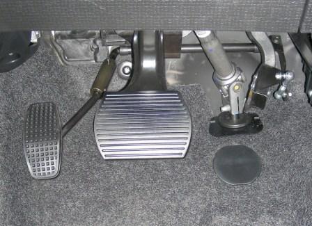 seconda immagine Spostamento a sinistra del pedale acceleratore reversibile