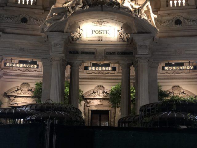 starbucks reserve roastery milano apertura palazzo poste