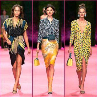 c45632e1c266 tendenze sfilate primavera estate 2019 milano fashion week elisabetta  franchi ...