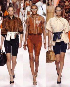 tendenze sfilate primavera estate 2019 milano fashion week fendi bermuda