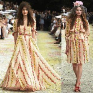 tendenze sfilate primavera estate 2019 milano fashion week luisa beccaria fiori bermuda