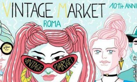 Vintage Market Roma compie 10 anni