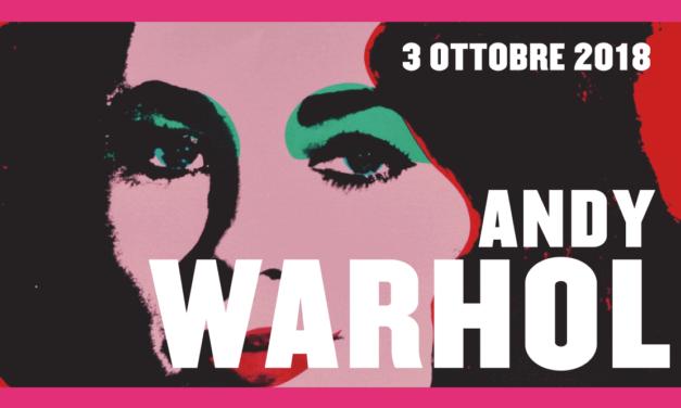 Andy Warhol in esposizione a Roma con la sua pop-art