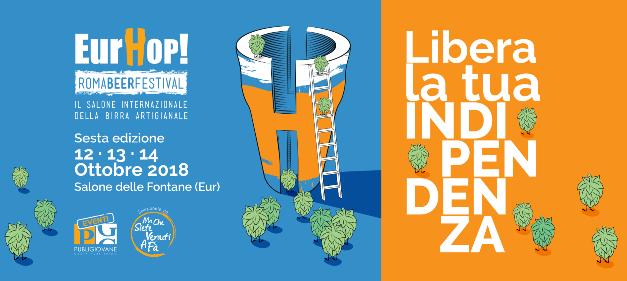 EurHop! Roma Beer Festival torna a Roma dal 12 al 14 ottobre