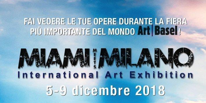 MIAMI MEETS MILANO, l'arte italiana sbarca a Miami