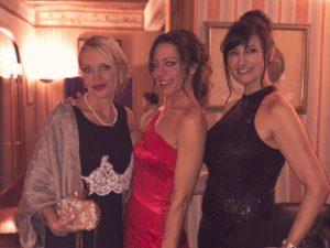 Laura Biagiotti Pieralisi festa di compleanno con Myriam Bridget Cornelini e Barbara Styles Manera