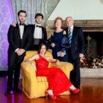 Laura Biagiotti Pieralisi festeggia a Villa Blumenstihl tra divertimento e buon cibo