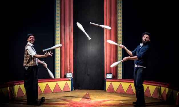 Rufus e Coriandolo , allegria e solidarietà al Teatro Greco di Roma