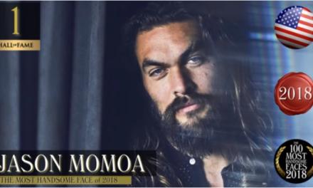 Jason Momoa è l'uomo più bello del mondo