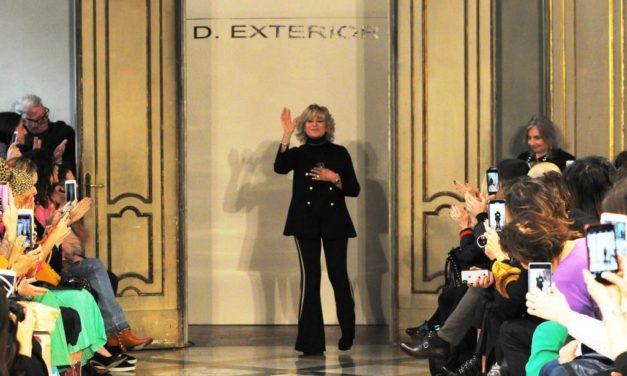 D.EXTERIOR sfila a Milano con la nuova collezione fall/winter 2019 2020