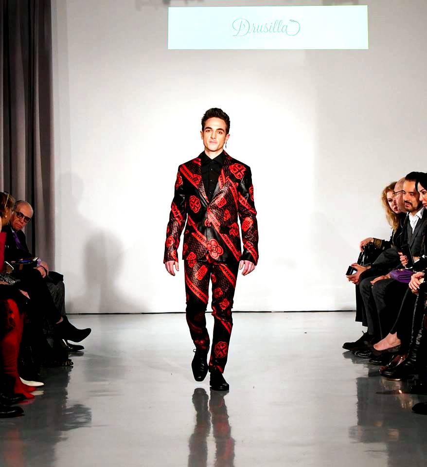 Lucilla Ferretti per Drusilla Clothing Model Gatsby
