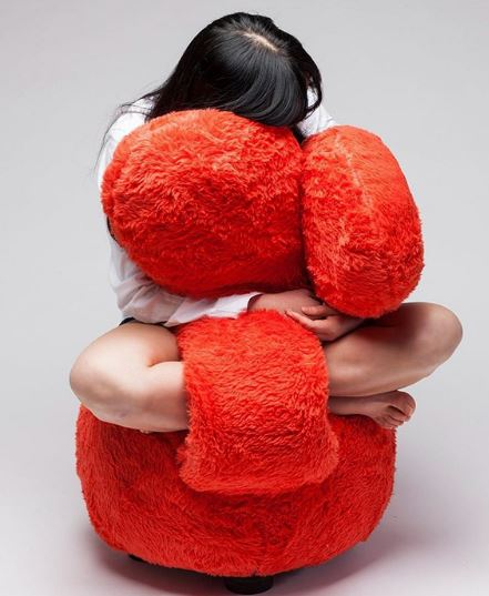 poltrona coccolona free hug sofa arancione