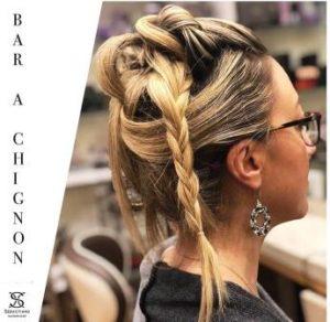 seba hairdresser bar a chignon