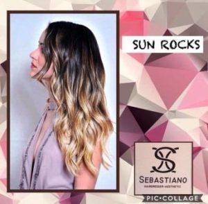seba hairdresser blonde honey sun rocks