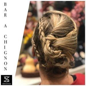 seba hairdresser chignon
