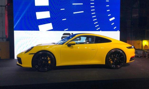 La nuova Porsche 911 incanta la capitale