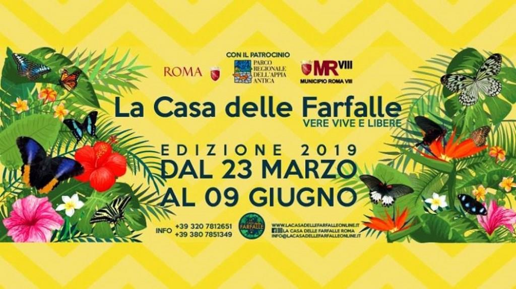 casa delle farfalle roma 2019 locandina