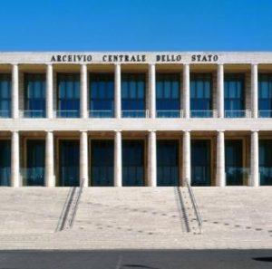 open house roma 2019 archivio centrale dello stato