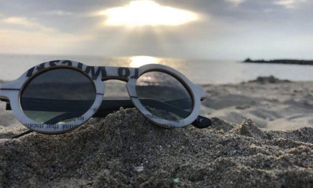 UPTITUDE gli occhiali prendono vita da sci e snowboard riciclati