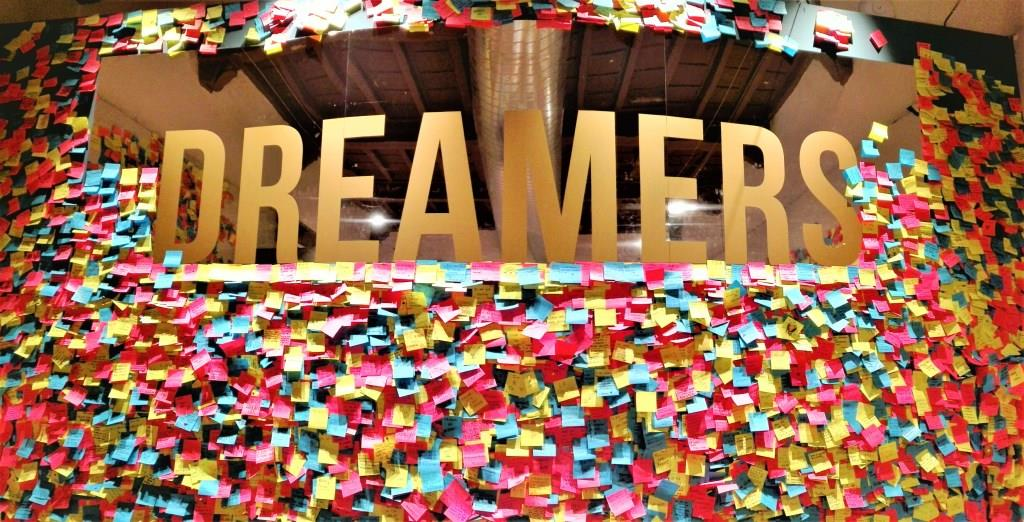Dream l'arte incontra il sogno chiostro del bramante dreamers post it